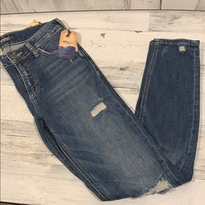 NWT-Silver jeans Women's Mazy skinny Distressed